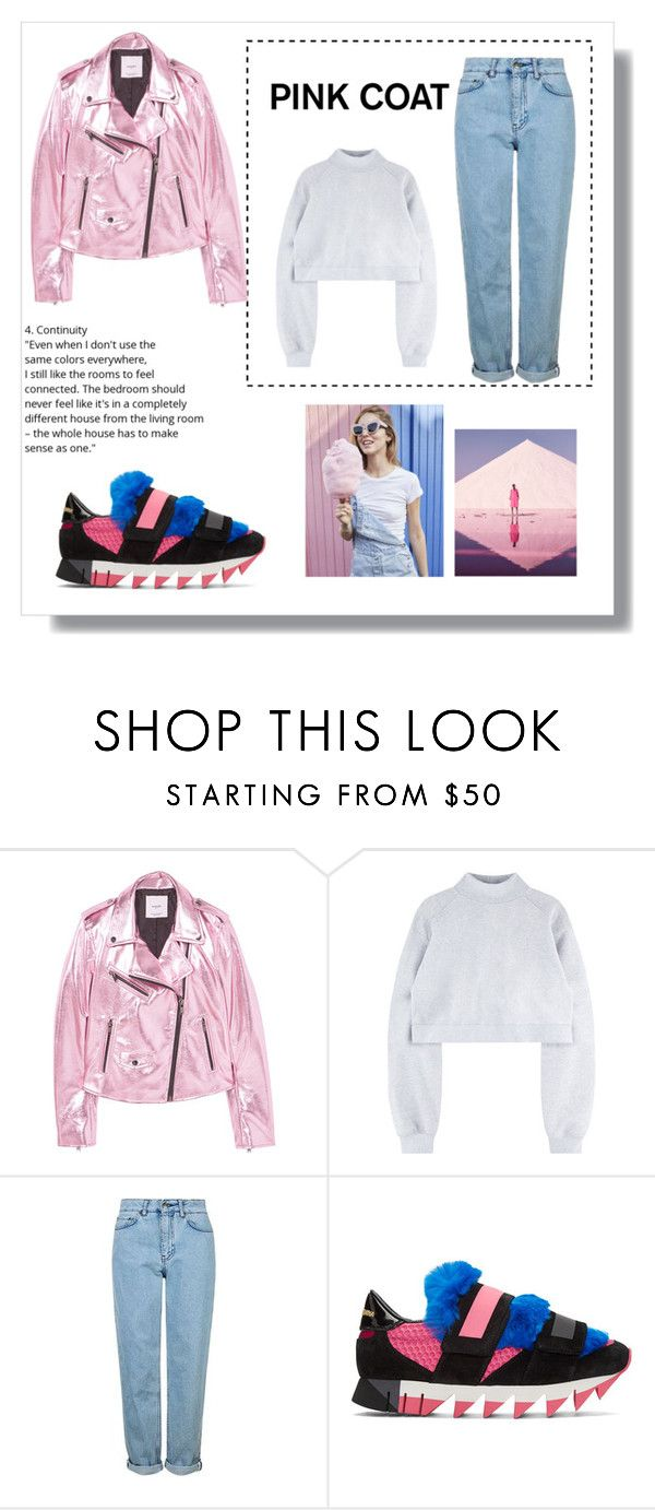 """""""Untitled #8"""" by bynana1357 ❤ liked on Polyvore featuring MANGO, Topshop and Dolce&Gabbana"""