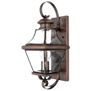 Check Out The Quoizel Car8728ac Carleton 1 Light Large Outdoor Wall Sconce In Aged Copper P Outdoor Wall Lantern Wall Mount Light Fixture Outdoor Wall Lighting