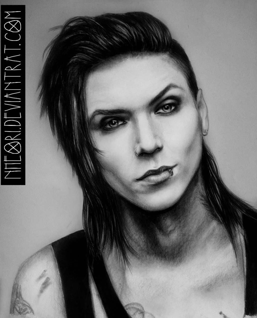 Andy Biersack By Nheori On Deviantart Andy Biersack Andy Andy Black