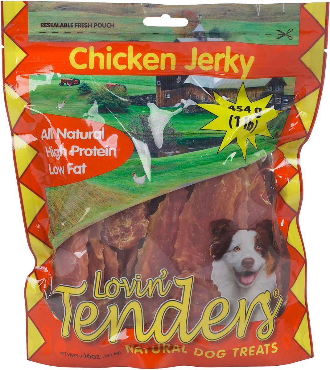 Lovin Tenders Chicken Jerky Natural Dog Treats 16 Oz Natural