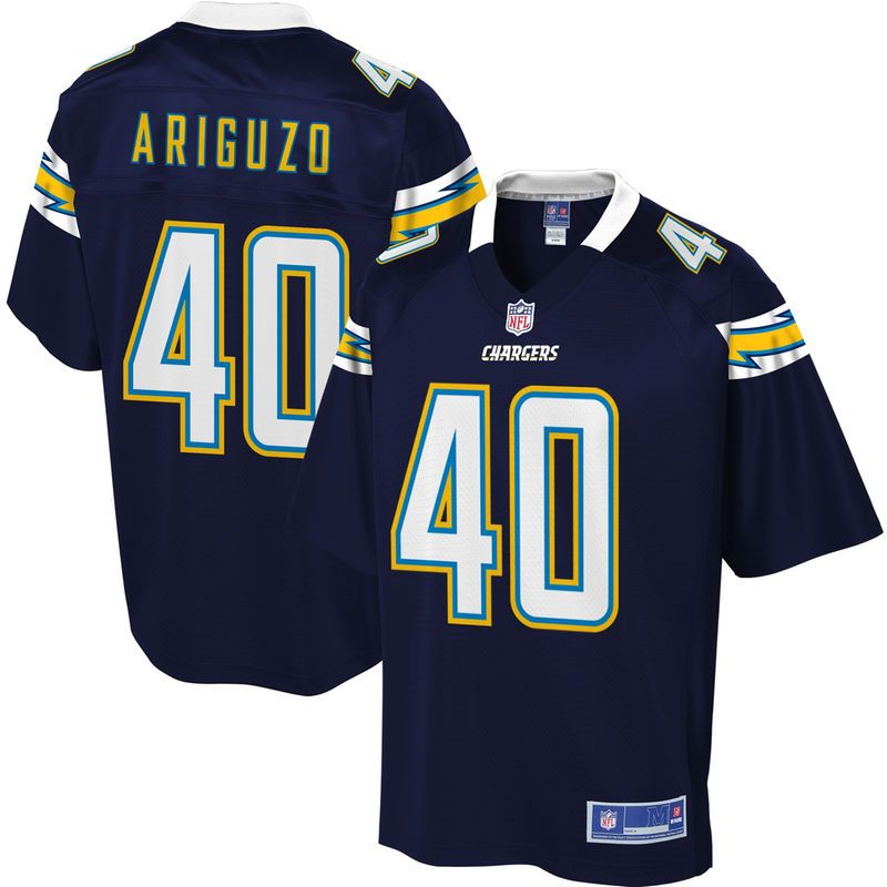 Men s Los Angeles Chargers Chi Chi Ariguzo NFL Pro Line Team Color Jersey 0ec4fa8db