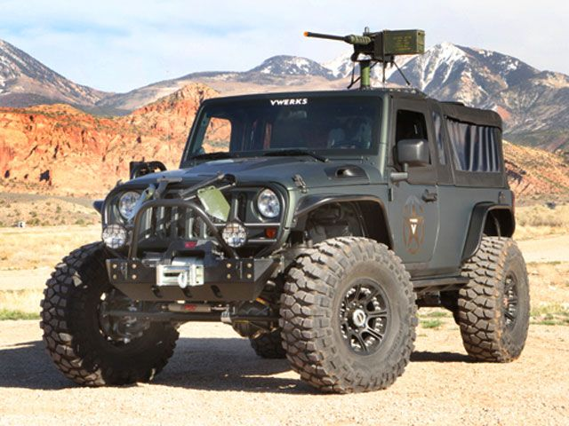 Get Ready For The Apocalypse V8 Jeep Wrangler Recon Has Got Your
