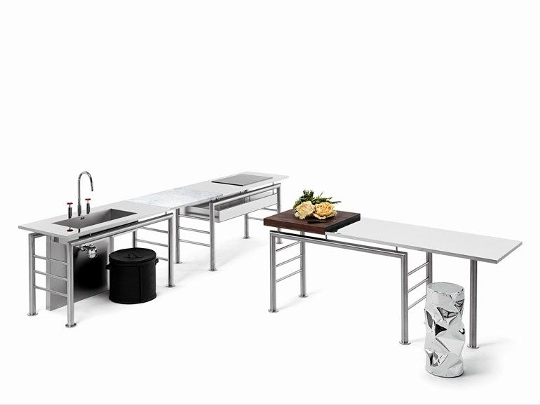 Opinion Ciatti AXIS PONTE Cucina freestanding componibile Ponte ...