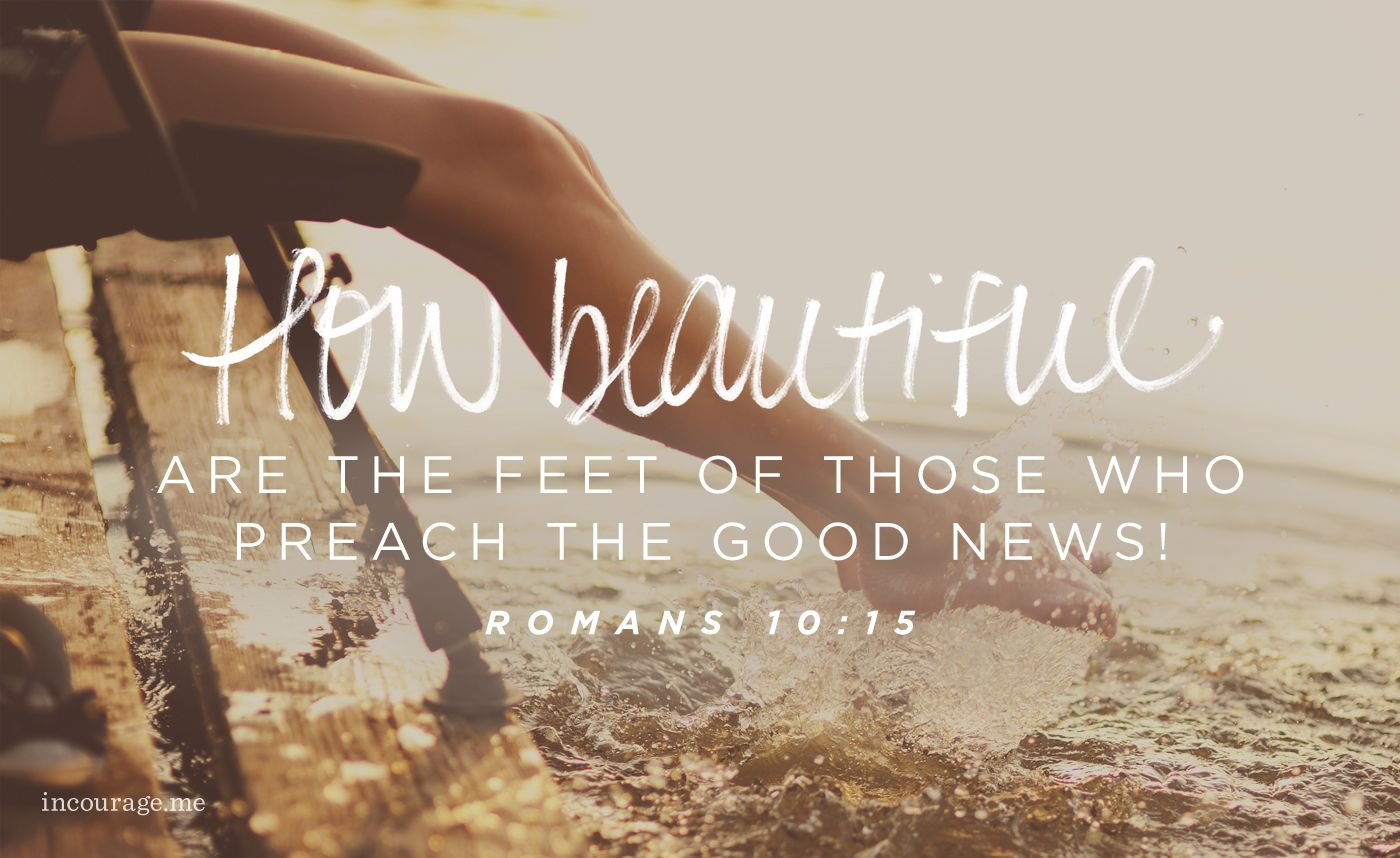 If You Can't Find the Words, Preach with Your Feet. | Scripture, Preaching