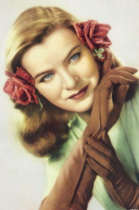 elegant colour portrait of actress