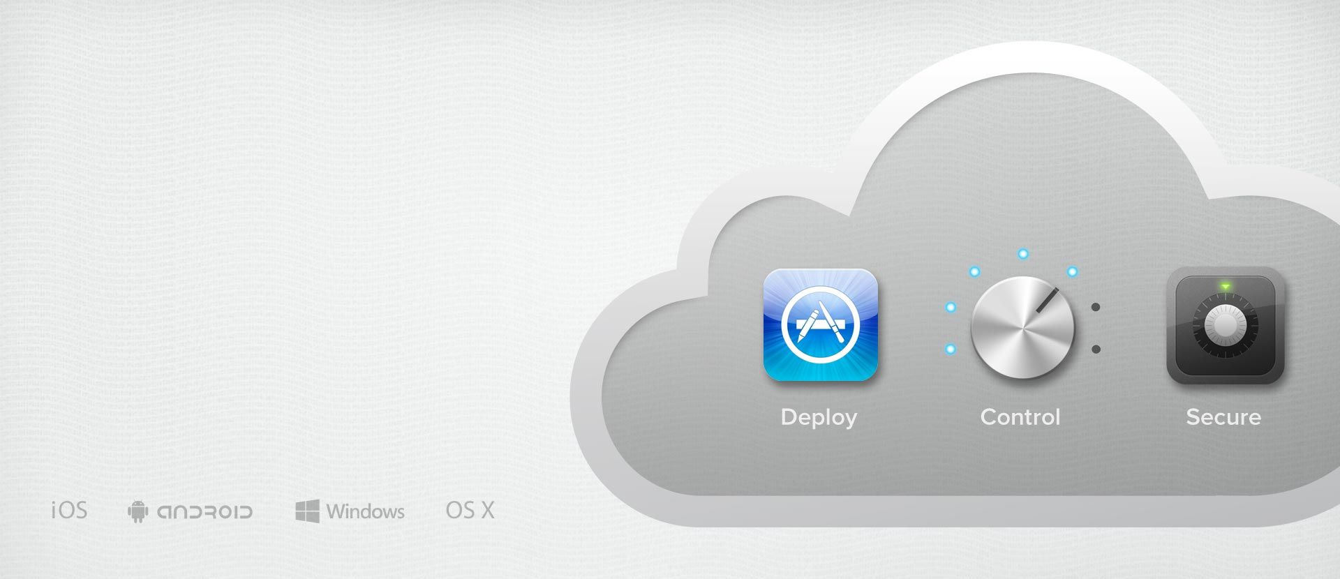 Manage mobile devices (MDM) from the cloud  100% Free for
