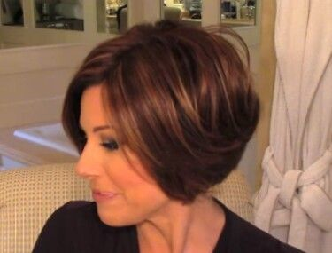 Pin On Stacked Angled Bob My Style