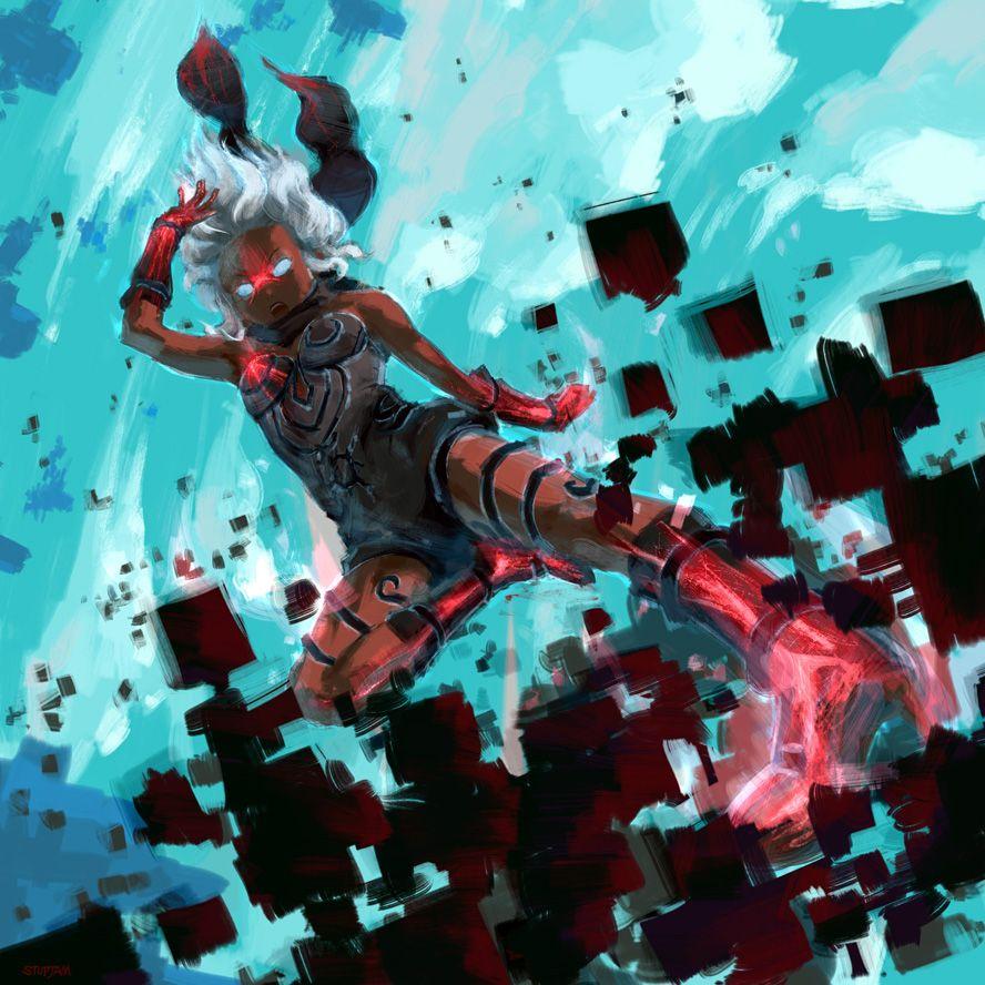 Rush Wallpaper: Pin By Leon Clarke On Manga , Art Perspective, OC, Cover