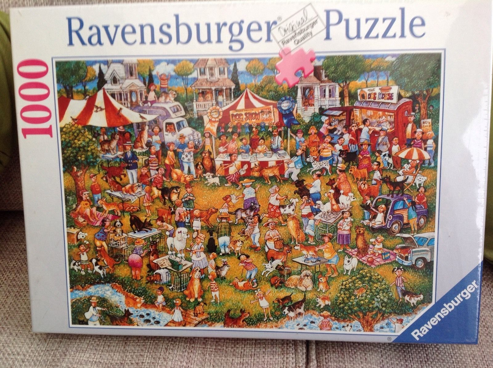 Ravensburger Jigsaw Puzzle Cartoon Dog Show 1000 Piece Brand New For Sale See Photos