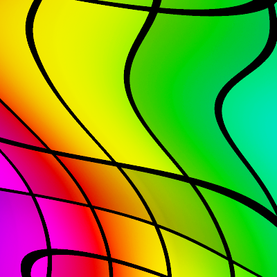 seamless chromatic rainbow patterns 5