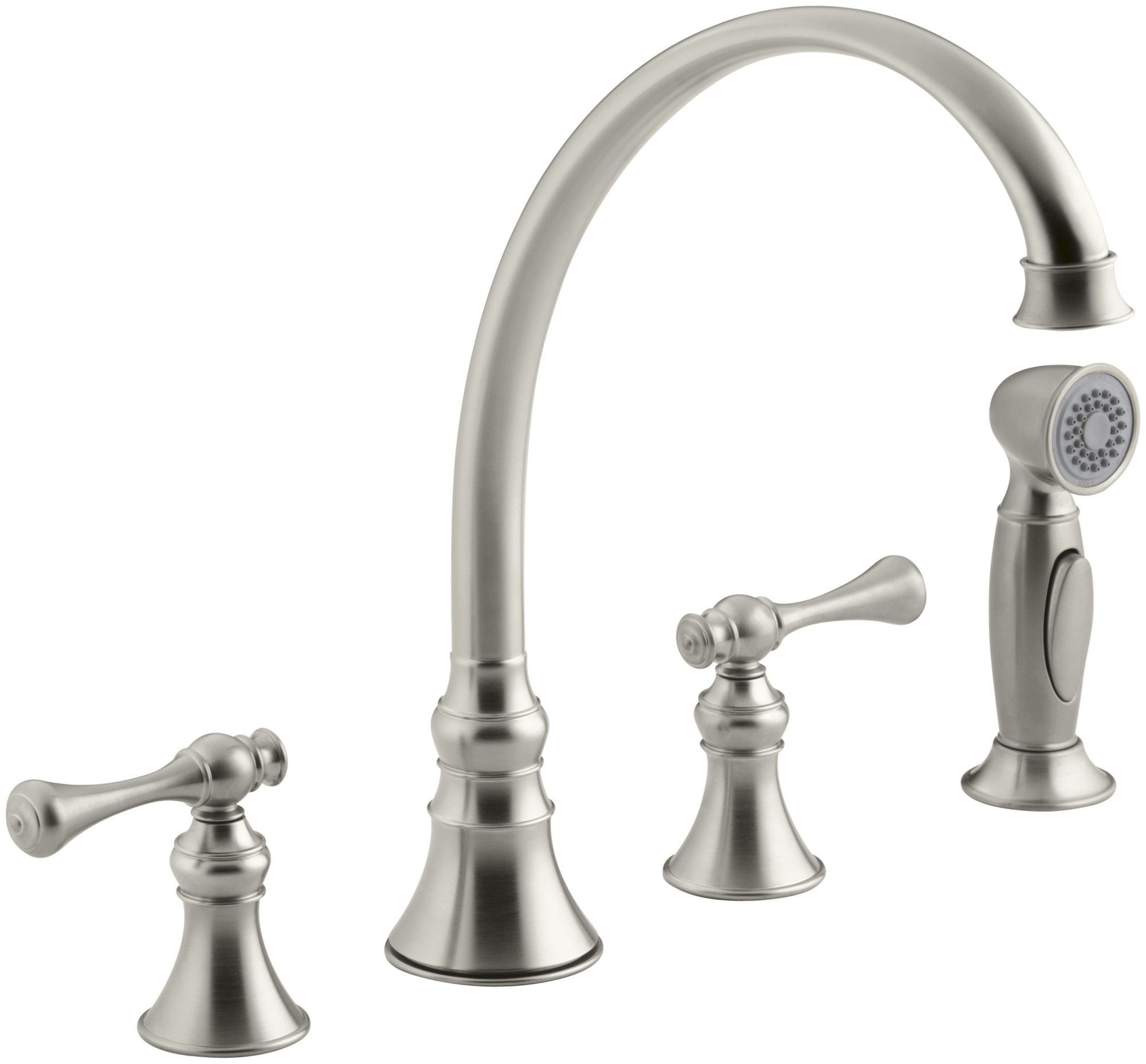 Revival Double Handle Kitchen Faucet