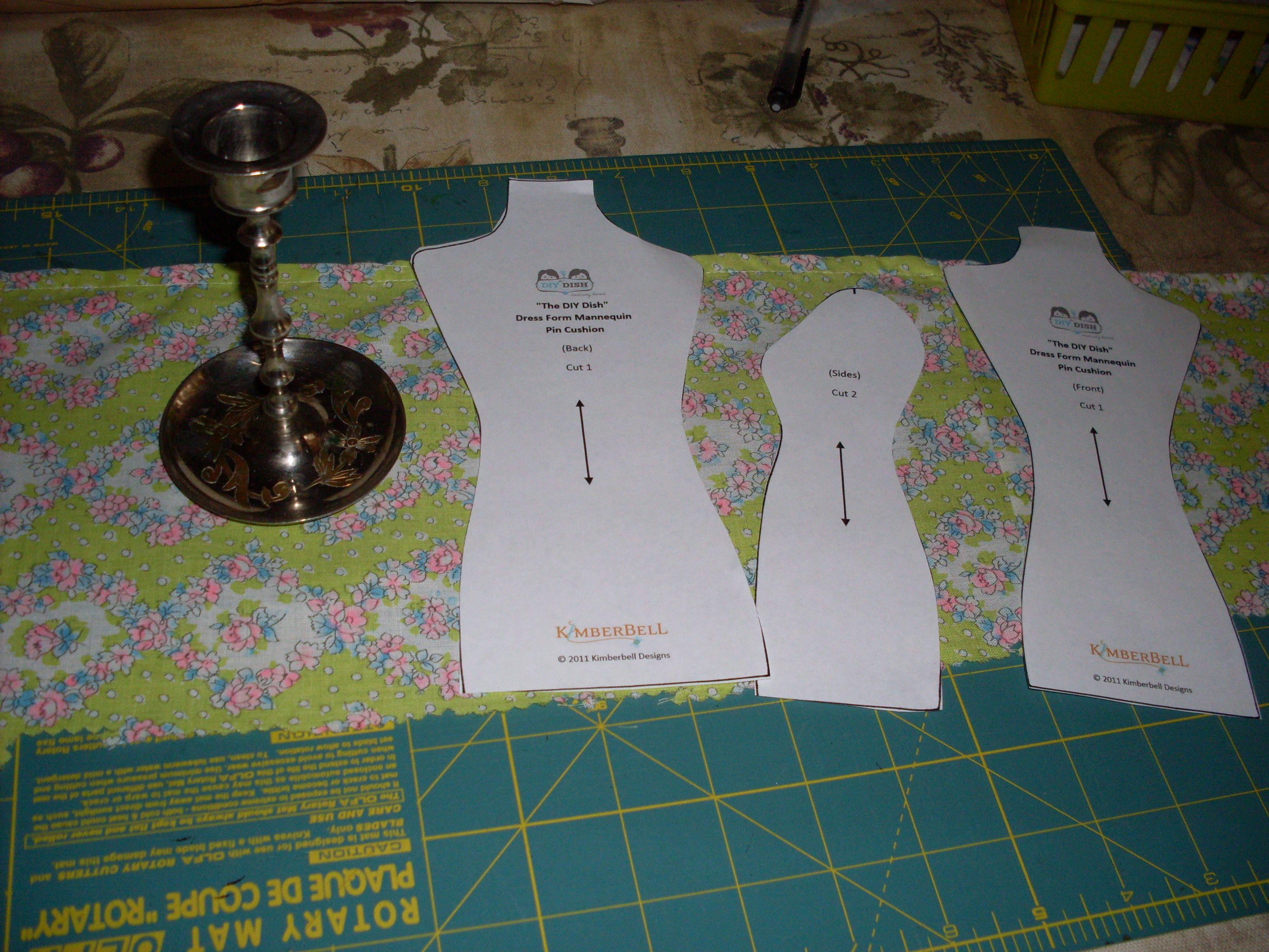 Dress Form Pincushion On Pinterest Dress Form