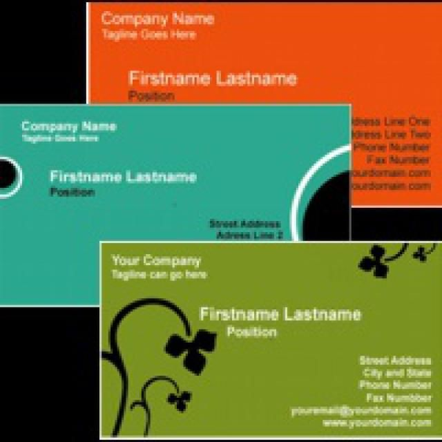 Download Customize And Print These Business Cards Business - Free template business cards to print