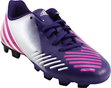 huge selection of 7931d 61c9c Adidas Predito TRX FG Outdoor Soccer Cleats - Boys   Girls Purple Pink  Silver Black
