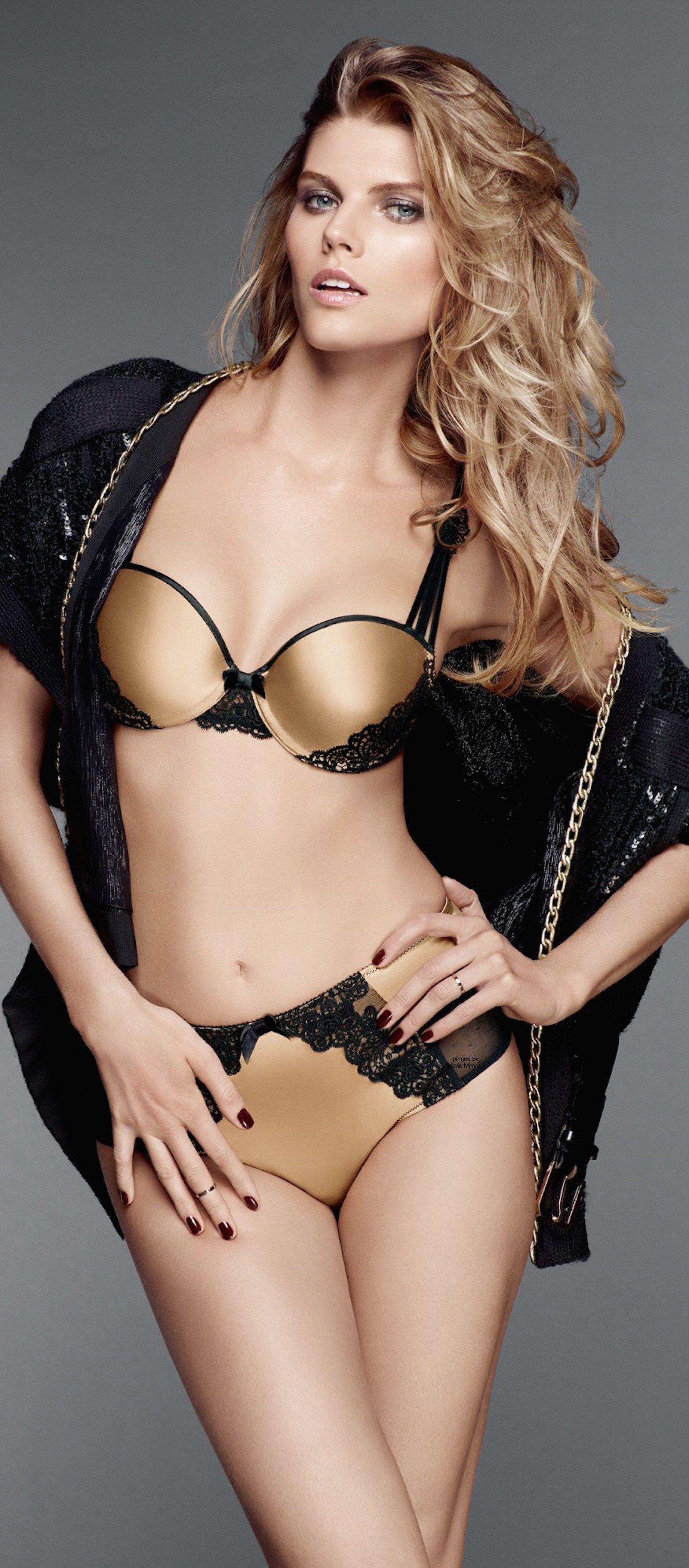 d30ac3f616 Atsuko Kudo black and gold lingerie