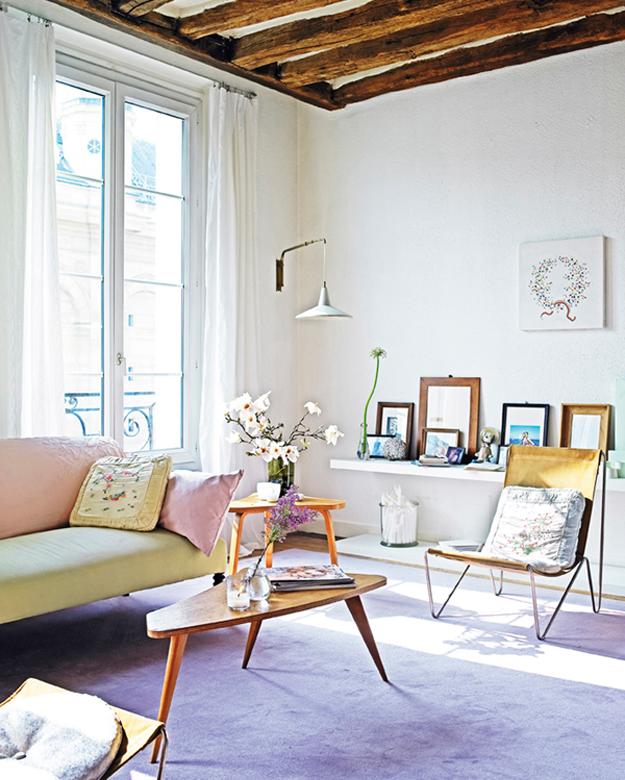 Une Maison D'inspiration Vintage Mignon Avec Beaucoup D'espace Pour Les Minous