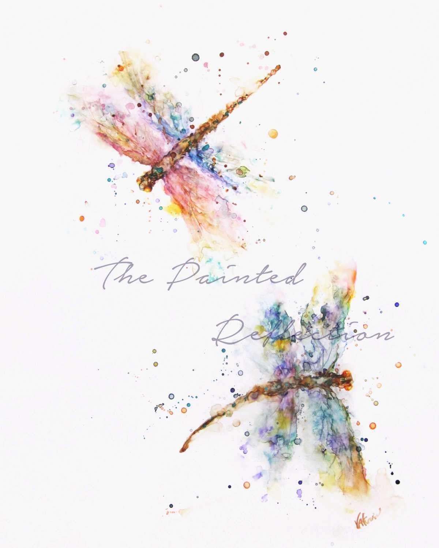 Idea By Jennifer Henderson On Art Ideas Watercolor Dragonfly
