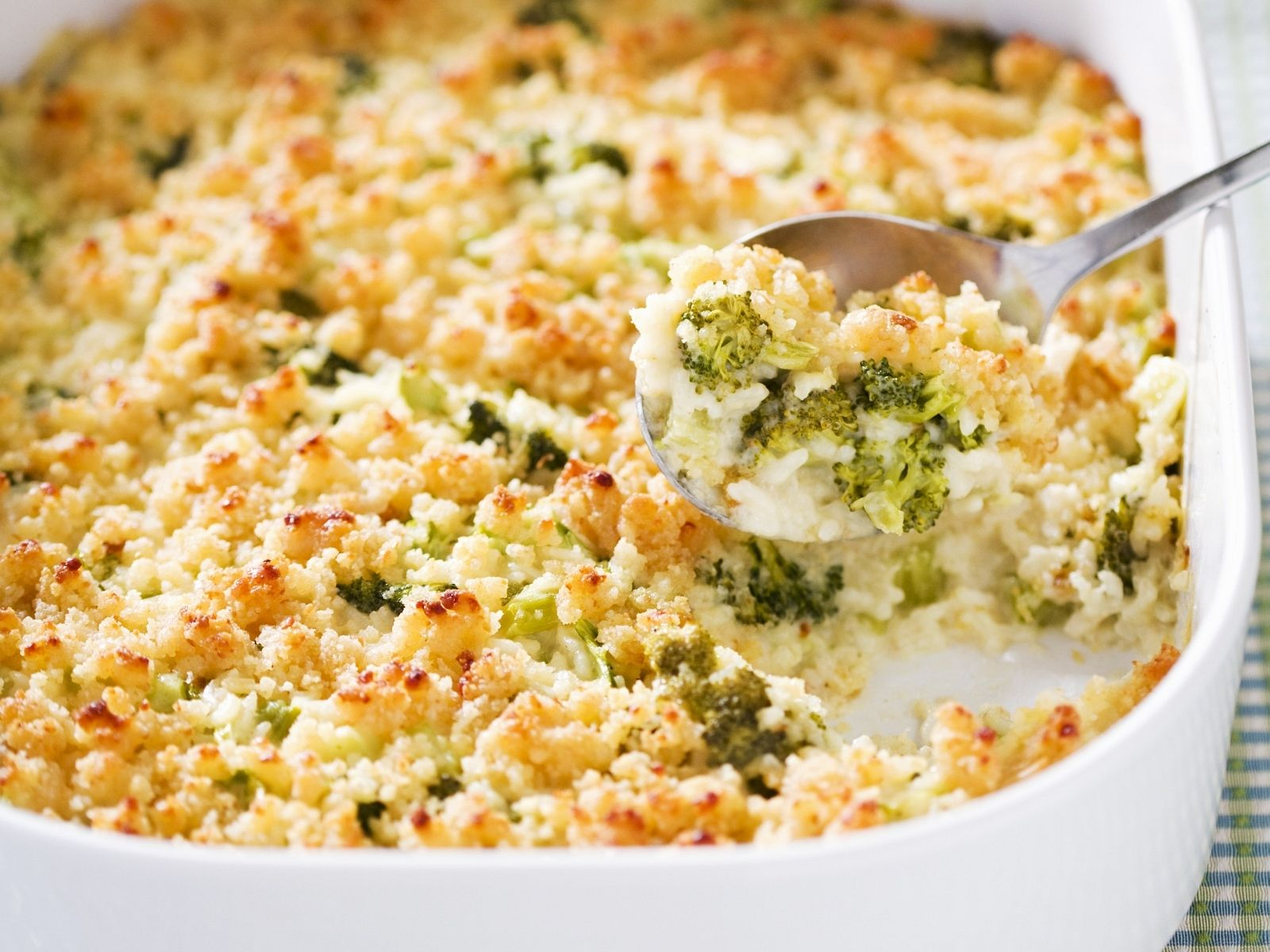 Photo of Reis-Brokkoli-Gratin