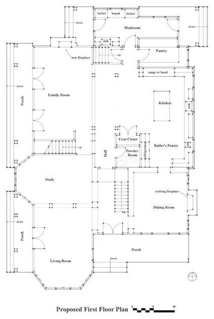 How to Read a Floor Plan {by Bud Dietrich, AIA} Floor