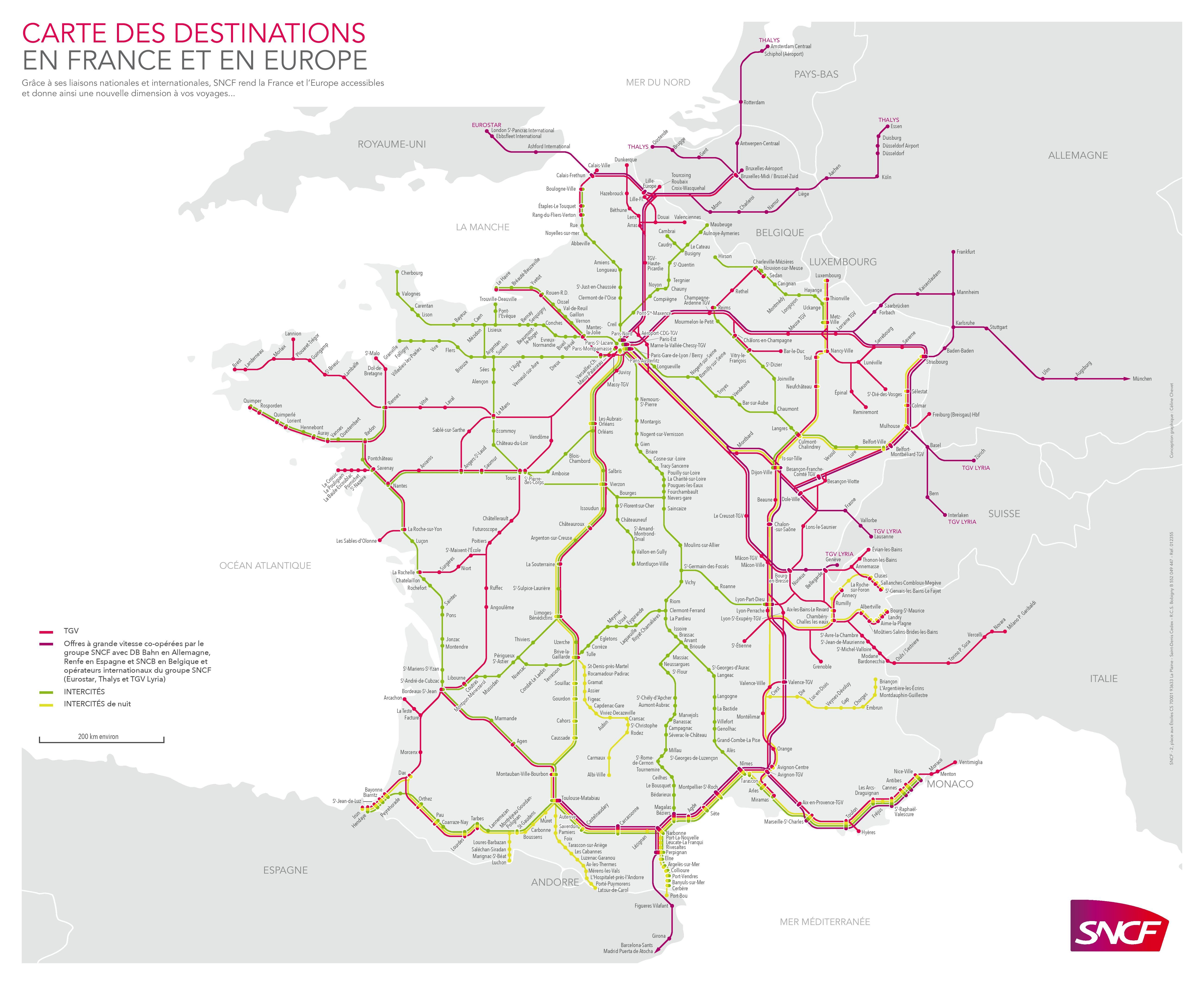 Map Of France Tgv Routes Google Search Geographie Carte