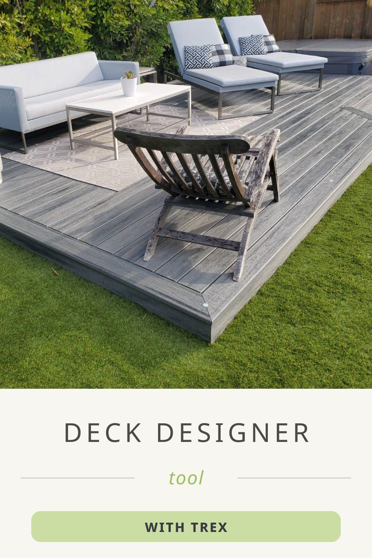 Deck Design Planning Software Trex In 2020 Deck Design Tool Deck Design Trex Deck Designs