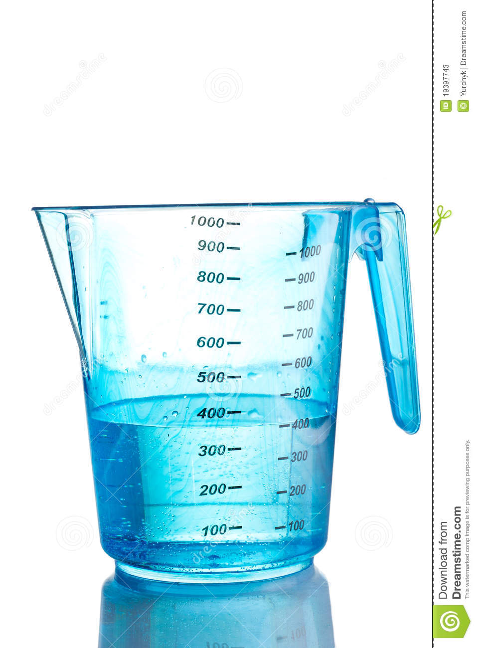 Photo About Blue Measuring Cup Filled With Water Isolated Image Of Level Nobody Number 19397743 Measuring Cups Cup Filling