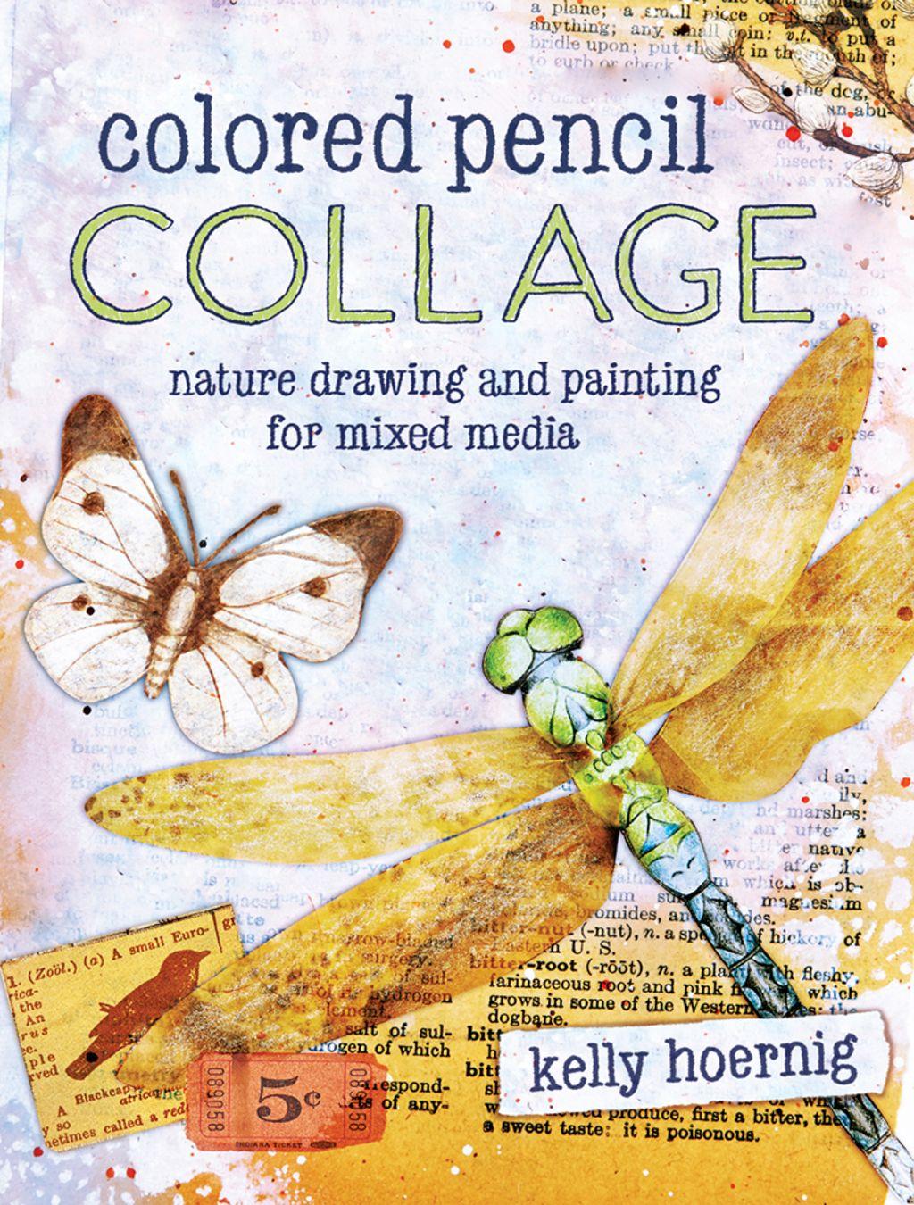 Colored Pencil Collage Ebook
