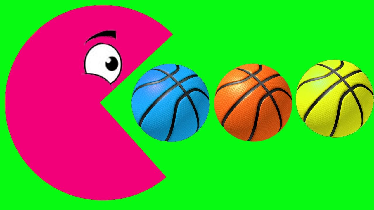 Learn Colors Pacman for Toddlers Kids - Spring Colors Packman - Fun ...