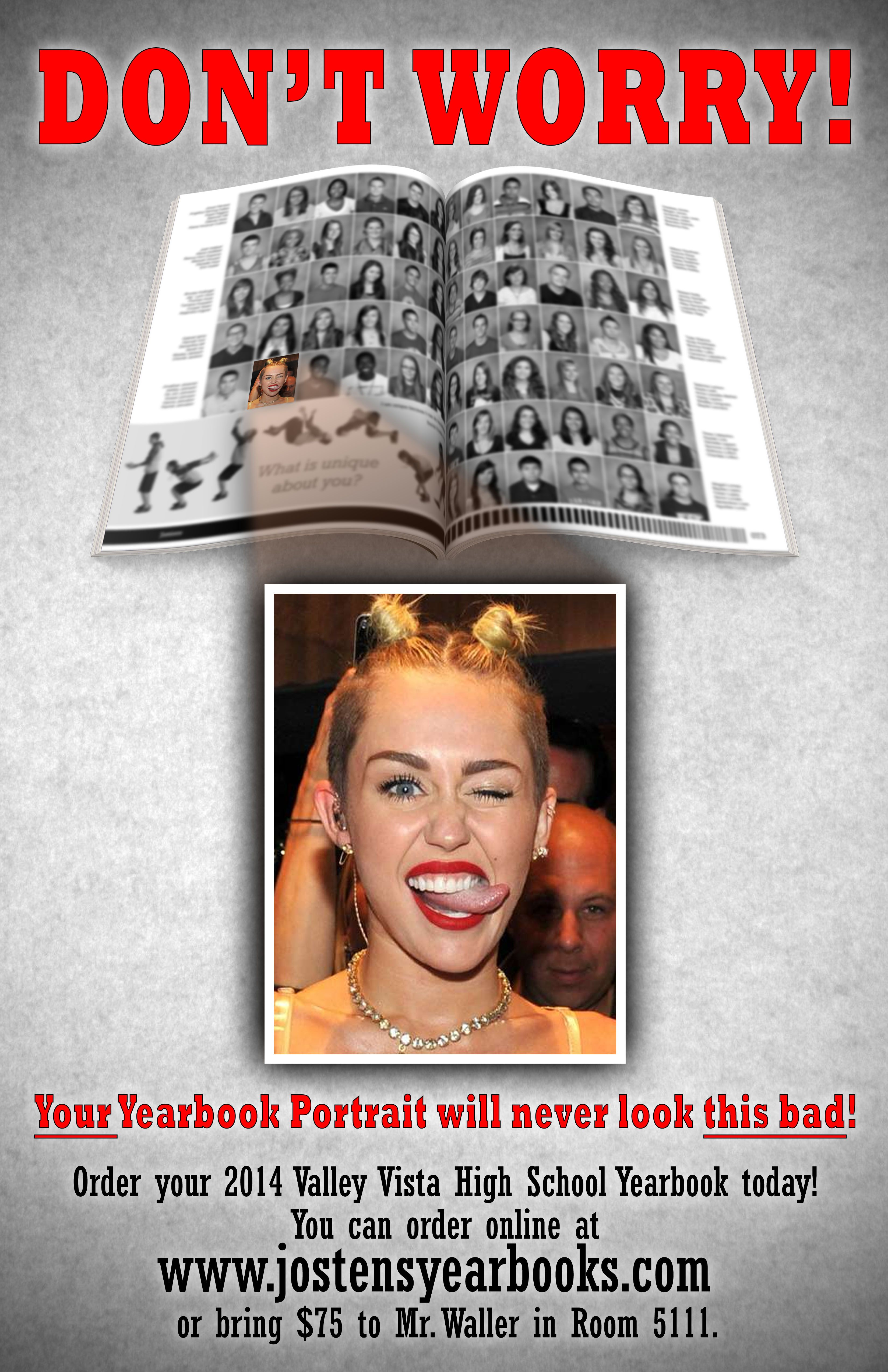 A hilarious yearbook sales poster—Your Yearbook Tip of the ...