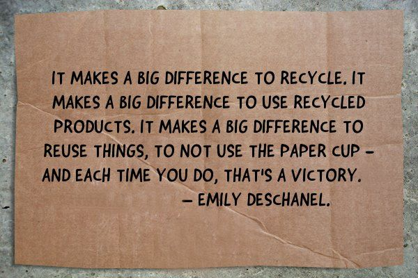 big difference - via: Sustainable Man (fb)