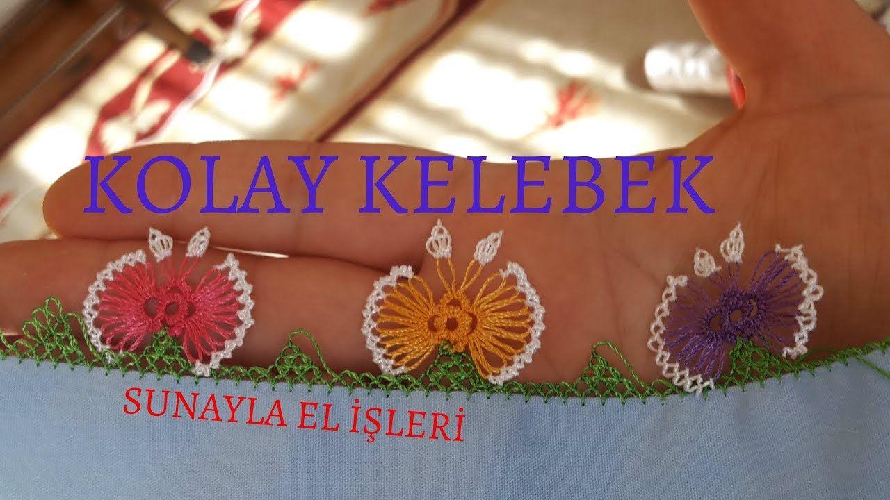 İğne Oyası Yapraklı Lale Modeli Yapımı Anlatımlı Türkçe Videolu