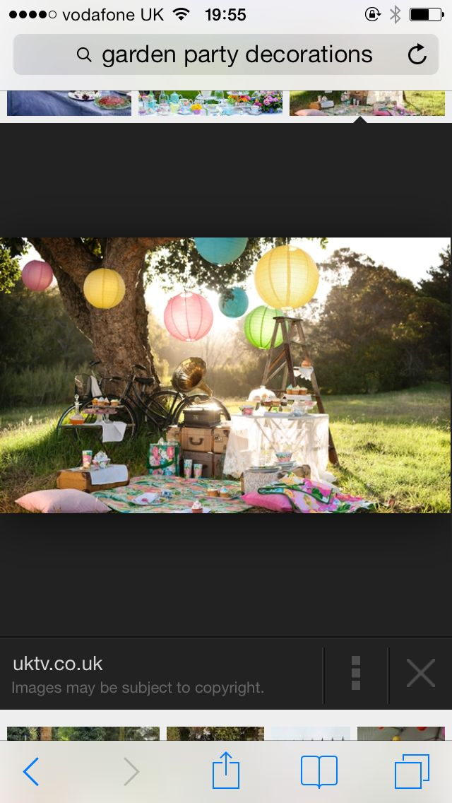 Outdoor party Birthday Party/Garden Party Pinterest Party