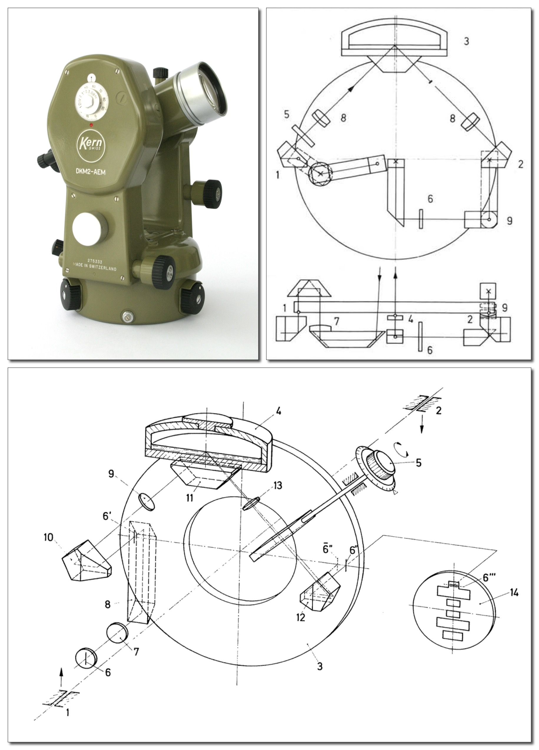 Dkm2 Am Theodolite With Built In Trunnion Axis Micrometer