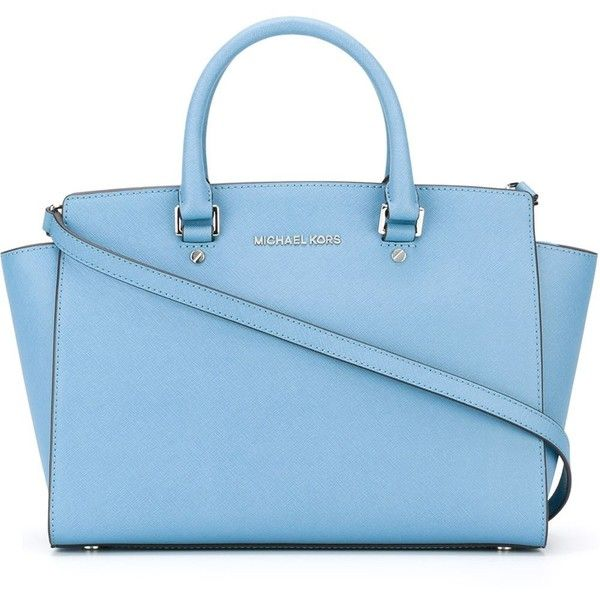 Michael Kors Large Selma Satchel Bag 330 Liked On Polyvore Featuring Bags