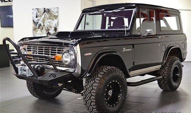 1970 Ford Bronco Fuel Off Road Wheels One