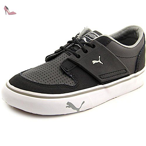 more photos ef83e ec3a3 Puma El Ace 2 Kids Garçon US 10 Noir Baskets UK 9 EU 27 - Chaussures