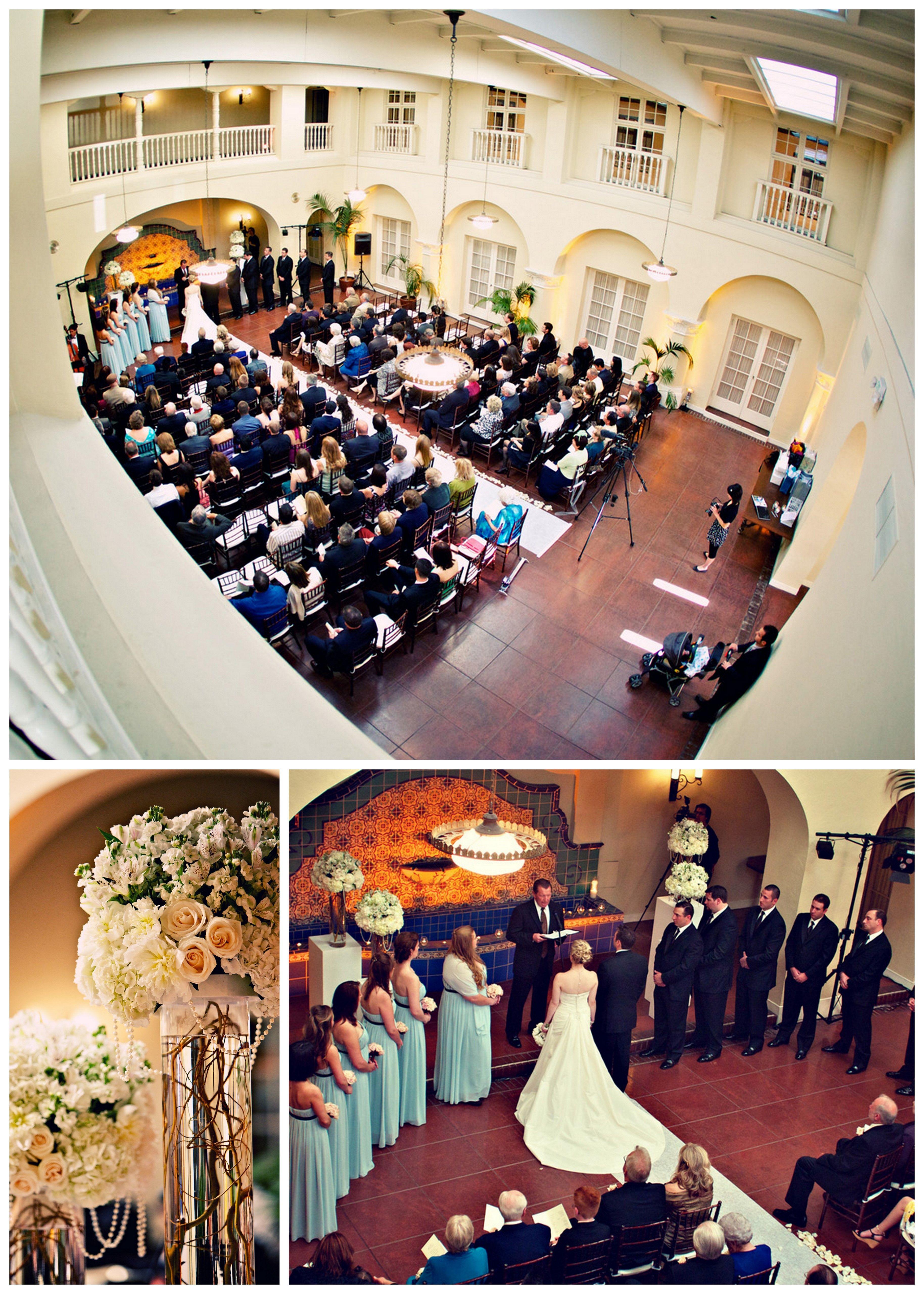 Ebell Club Wedding Long Beach