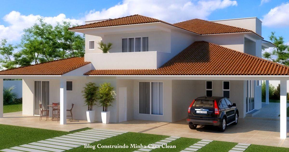 Fachadas de casas com garagem nice houses artificial for Modelos de casas modernas