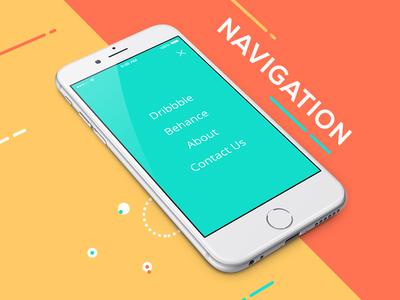 Mobile.design navigation