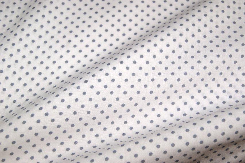 NB 5579-61 Stipjes katoen wit/grijs