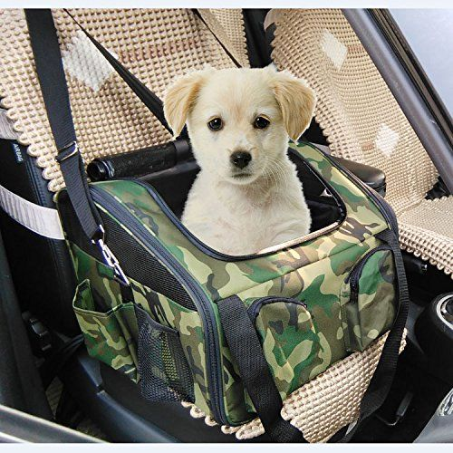 Pet Car Seat Carrier For Dog Cat Camgo Lookout Booster Seat See This Great Product This Is An Affiliate Link Dog Carrier Dog Car Seat Cover Dog Car Seats