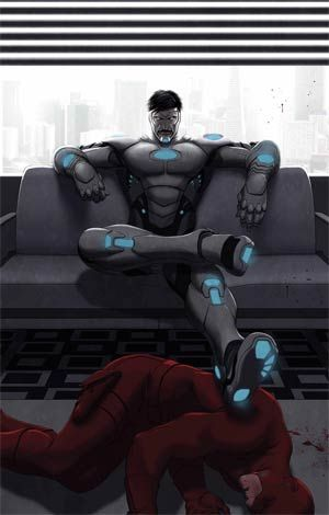 Superior Iron Man #4 Cover A Regular Mike Choi Cover