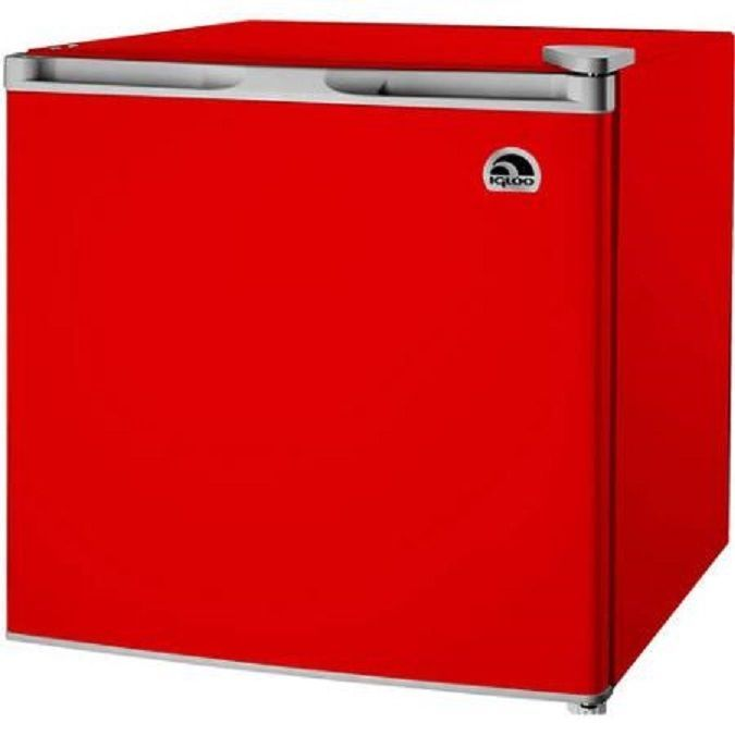 Igloo Mini Fridge RED 1.6 Cu Ft Refrigerator Compact Small Freezer Dorm  Home New In Home Part 72