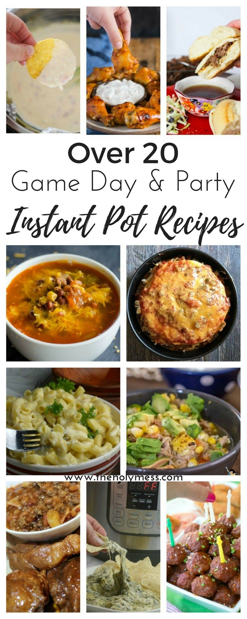 Are you hosting a crowd for a big game day or tailgating? Check out these awesome Instant Pot game day and party recipes that your guests will love.