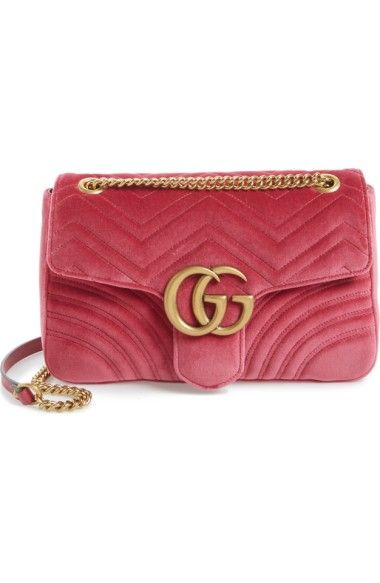 78045786b419ca GUCCI Medium Gg Marmont 2.0 Matelassé Velvet Shoulder Bag. #gucci #bags #shoulder  bags #velvet #