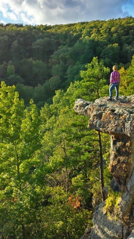 Pedestal Rocks Loop Trail in Pelsor, AR ~ Exploring Outdoor Arkansas