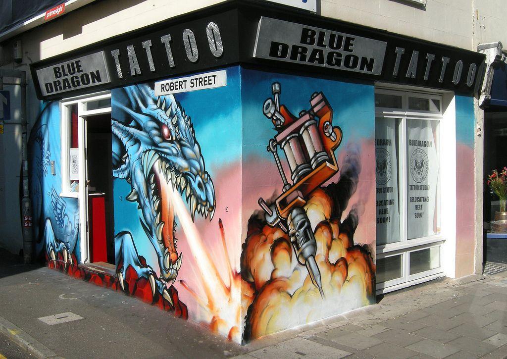 Blue Dragon Tattoo Studio Alex Young Odisy In 2019