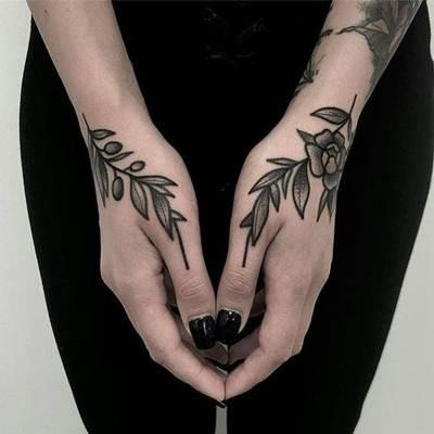 تاتو يد و قدم و جسم انواع الوشم و اجمل صور تاتو Tattoo Hand Tattoos Body Tattoos Tattoos
