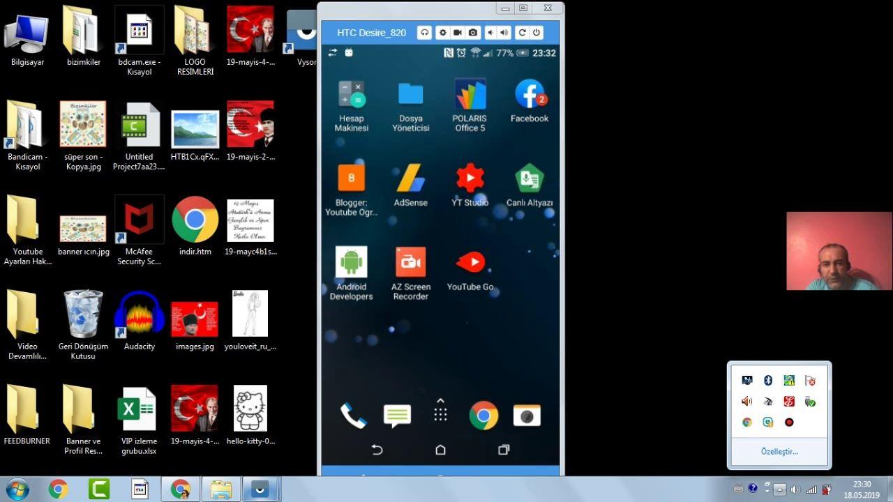 Cep Telefonunun Ekranını Bilgisayar Ekranında Göstermek