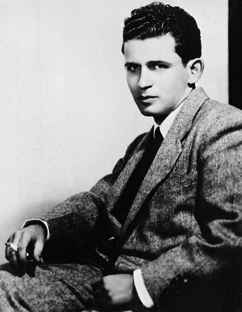 12 famous author's first real author photos...Norman Mailer on the back cover of The Naked And The Dead, 1948